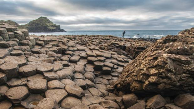 The Giant's Causeway on the edge of the Antrim plateau is Northern Ireland's only UNESCO World Heritage site.