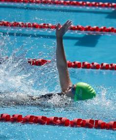 Eva plays down record-breaking swims | Stuff co nz