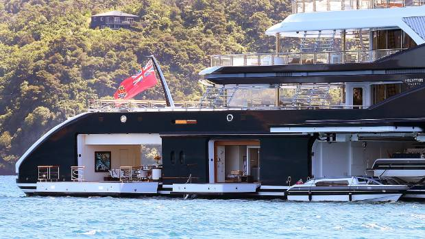 Serene May Be The Biggest Super Yacht To Have Cruised Marlborough Sounds