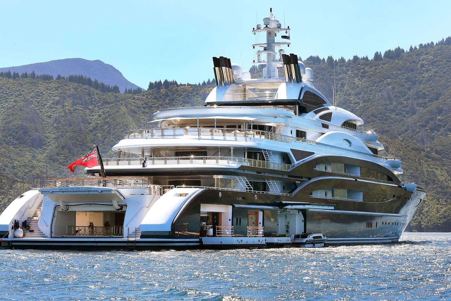Crew Of Super Yacht Serene Take In Marlborough Views Stuff Co Nz