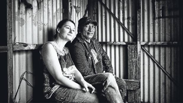 WORKING TEAM: Photographer Birgit Krippner, left, with Tame Iti in ITI-12, which features in the exhibition Iti opening ...
