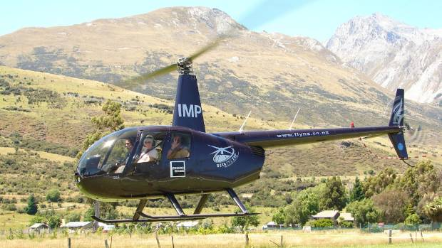 GROUNDED: Robinson 44 helicopters are being investigated, like this one owned by Over the Top, the company involved in a ...