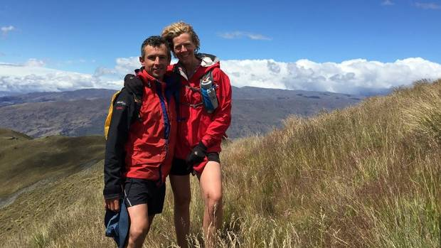 OUTPOURING OF SUPPORT: Wanaka helicopter pilot Steve Combe and wife Steph.