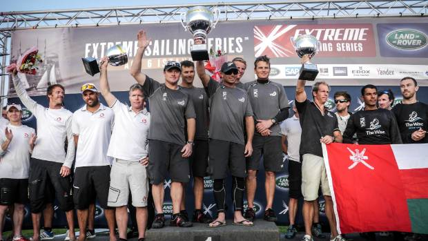 Barker skippers Emirates Team New Zealand to victory at Act 6 of the Extreme Sailing Series in Istanbul, Turkey