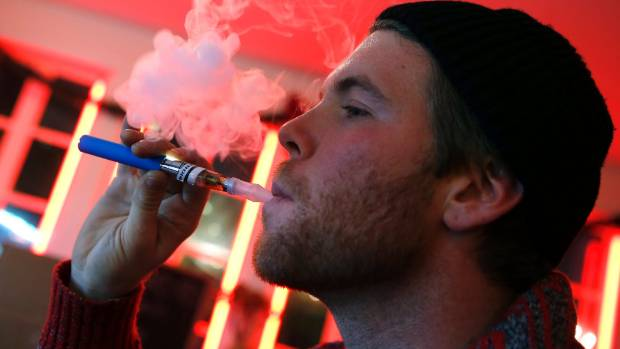 VAPING VS SMOKING: E-cigarettes market themselves as an aid to quit smoking, but not everyone's buying it.