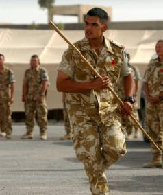 A DECADE AGO: Prime Minister Helen Clark visited Kiwi troops serving on Operation Telic II in Basra, Iraq in November ...