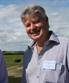 Ray Barron was the driving force behind Coastal Rugby & Sports Club's dairy farming operation.
