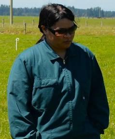Filipino Dairy Workers in New Zealand chairwoman Maiden Saba.