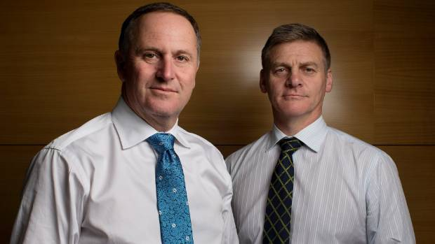John Key and Bill English - will the Budget get Gen-rent closer to their own home?
