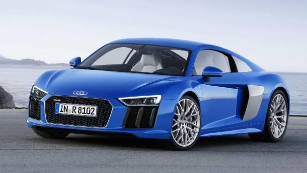 The New Audi R8 V10.