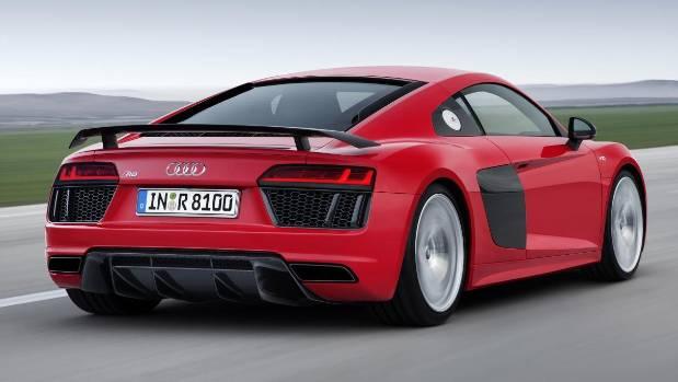 The New Audi R8 V10 Plus.