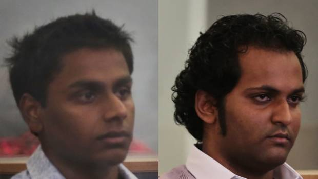 ACCUSED: Shivneel Kumar and Bryne Permal are accused of murdering 21-year-old Shalvin Prasad.