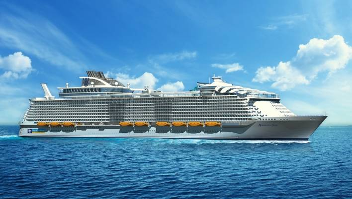 Harmony Of The Seas Will Host Over Six Thousand Pengers