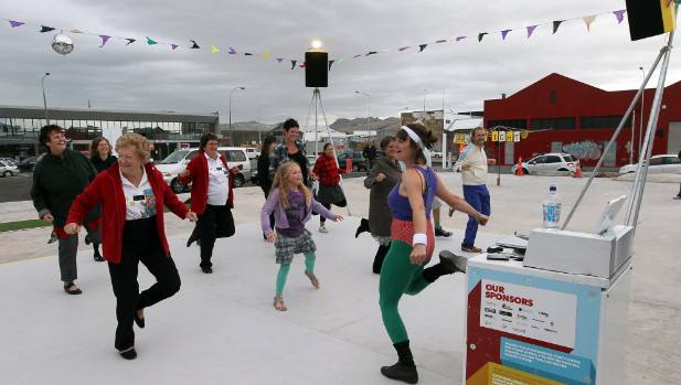 CREATIVE SPACES: There are surprises around every corner in Christchurch - such as the Dance-o-Mat, says Coralie Winn ...