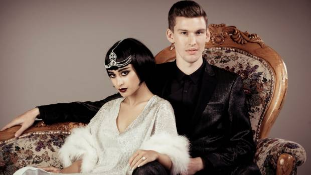 Natalia Kills who has changed her name to Teddy Sinclair and husband Willy Moon.