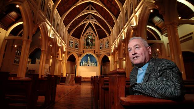 St Mary of the Angels Parish Priest Father Barry Scannell spearheaded the $9.5m fundraising campaign for the church ...