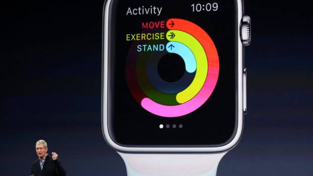 TRACKERS: The Apple Watch can do a lot more than just tell the time.