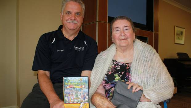 Former Marlborough Wine and Food Festival co-ordinator Mike Blair holds a copy of a new DVD recounting its 30-year ...