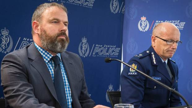 INVESTIGATION: Scott Gallacher, MPI deputy director general, and Deputy Police commissioner Mike Clement explained the ...