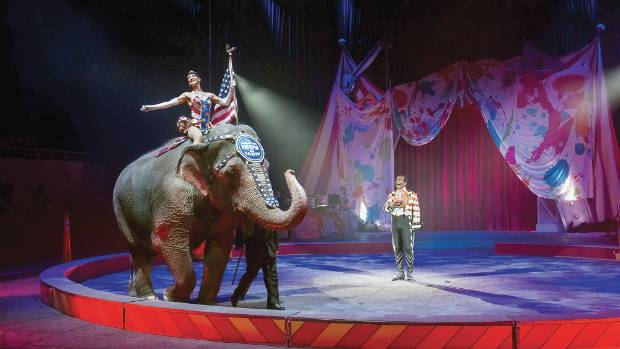 The Ringling Brothers and Barnum and Bailey Circus closes in May.