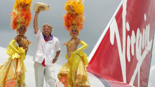 COOL CHANGE: Richard Branson says accepting change is vital in the business world.