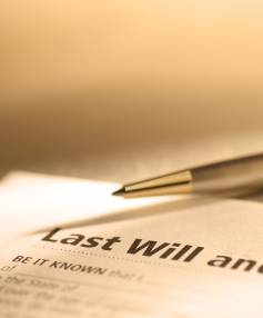 SIGN HERE: Digital wills could be the way of the future, although a change of legislation will be required.