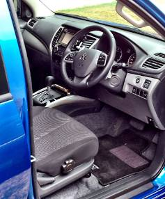 Cabin improvements: As well as using car-like architecture, Mitsubishi's reshaped seating means the Triton offers good ...