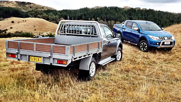 Single Cab Chassis: It's expected to be as strong a performer as the wellside in the background.