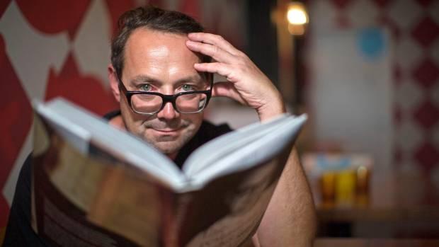 ADVOCATE: Food Truck chef Michael Van de Elzen has struggled with mild dyslexia all his life.