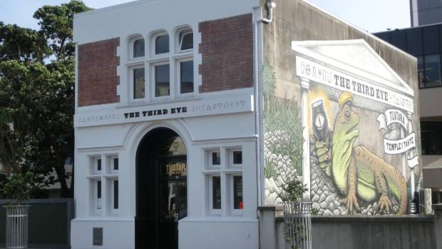 The Tuatara Brewing Company Third Eye micro-brewery and tasting room. The building has reportedly sold for $1 million.