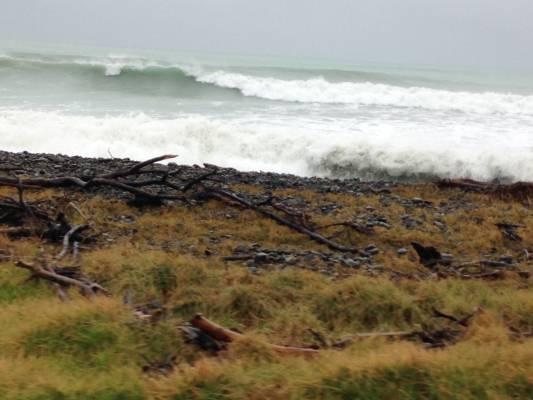 The relative calm before the storm in Te Araroa.