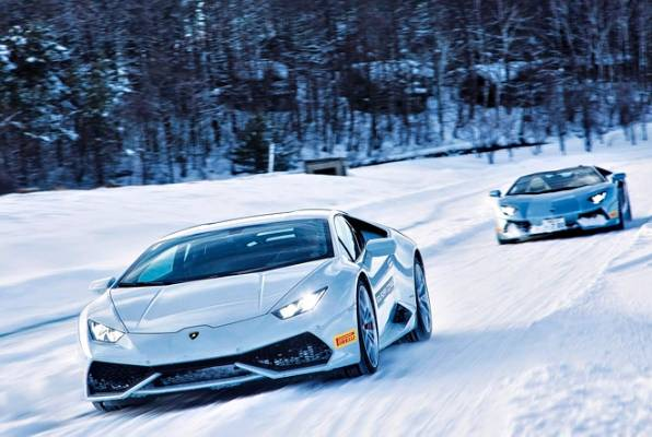 COUPE COMFORT: About The Only Time Youu0027d Rather Be In The Huracan Than