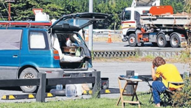The freedom camping site at Collins Memorial Reserve on SH1 in Koromiko between Picton and Blenheim could be scrapped.