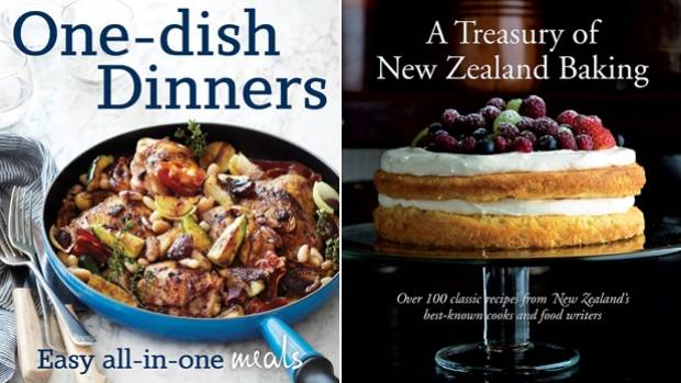 Kiwi cookbook reviews one pan wonders and a baking bible stuff one dish dinners and a treasury of new zealand baking forumfinder Choice Image