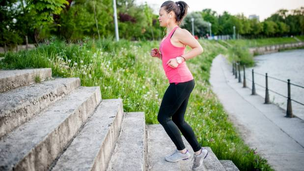 Take the stairs whenever you can – both a form of incidental and HIIT exercise.