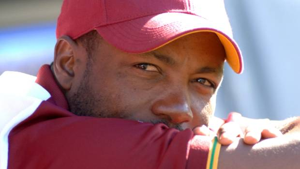 Former West Indies batsman Brian Lara pictured in 2006 on a tour of New Zealand.