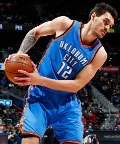 Kiwi centre Steven Adams bagged yet another double-double for the Thunder in their victory over the Suns.