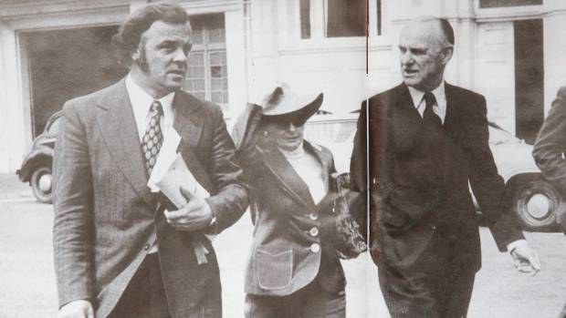 The defence: Lawyer Mike Bungay, left, was able to get William Ball Sutch acquitted, but the case destroyed his client.