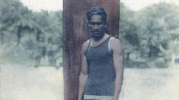 KING OF THE WAVES:  The man dubbed the father of surfing Duke Kahanamoku.