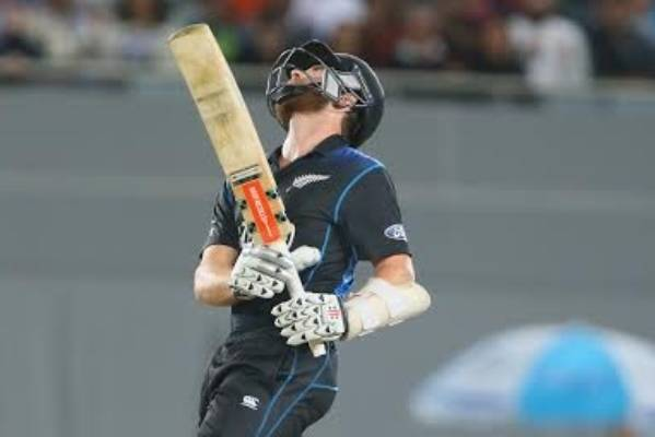 Kane Williamson can't hide his disappointment as his innings comes to an end.