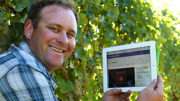 Marlborough grape grower Callum Linklater, who supplies grapes to Invivo Wines, explores crowdfunding website Snowball ...