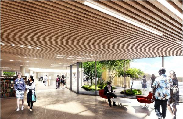 Plans for Christchurch's new $85 million library has been revealed.