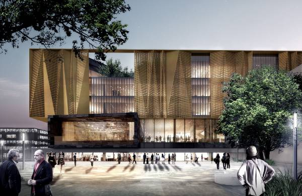 Christchurch 39 s new 85m library unveiled for Landscape contractors christchurch