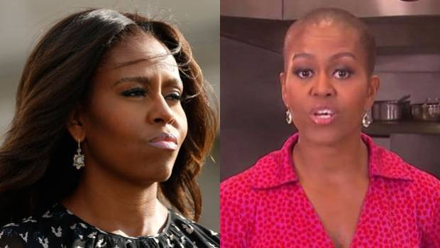 Why Do People Think Michelle Obama Has Gone Bald Stuff