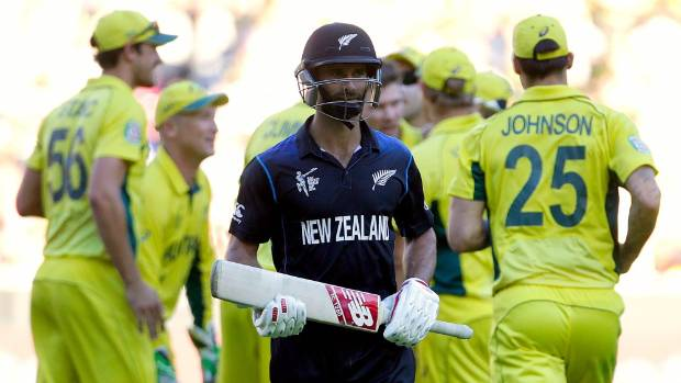 New Zealand's Grant Elliott put up a brave fight, scoring 83, as the Black Caps were rolled for 183 batting first in the ...