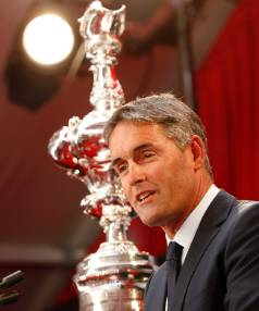 America's Cup boss New Zealander Sir Russell Coutts.