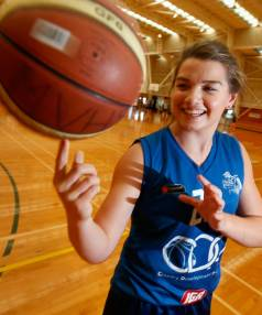 Basketballer Bianca Small is shooting for the stars as she prepares to head to Las Vegas, in the hope of securing a ...