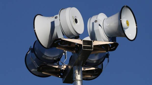 Tsunami sirens in Christchurch weren't activated until an hour after the warning.