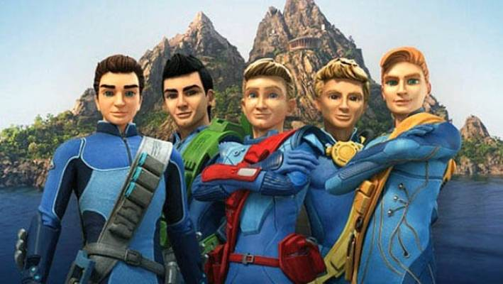 Pukeko Pictures also makes Thunderbirds Are Go, which looks likely to also feature in the Chinese theme park.
