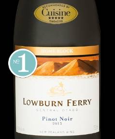 Lowburn Ferry Home Block Pinot Noir 2013